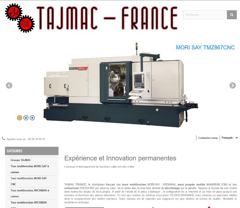 Référencement / SEO de Tajmac France