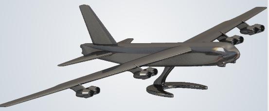 Fichier 3D B-52 pour impression 3D